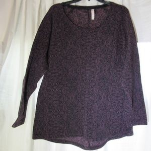 Gillgan & o'malle XXL night shirt black and Purple